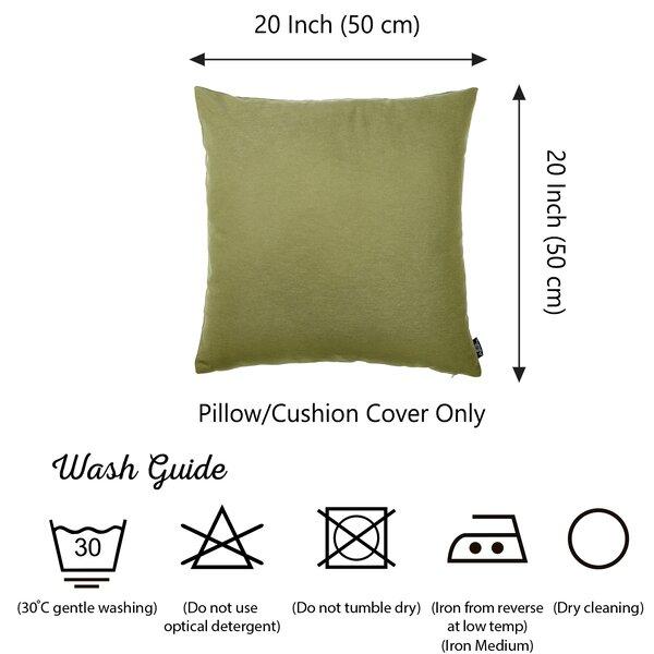 Ebern Designs Weinberg Decorative Indoor Outdoor Throw Pillow Cover Reviews Wayfair