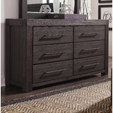 Robbs 6 Drawer Dresser by Union Rustic