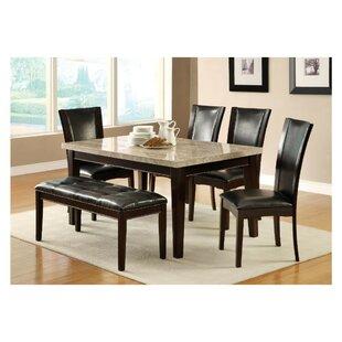 Gayton 6 Piece Dining Table Set
