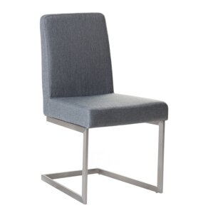 Teshia Arctic Upholstered Dining Chair by Orren ..