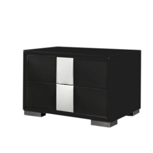 Kaelynn 2 Drawer Nightstand