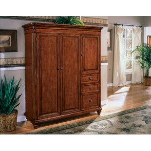 Buckeye Armoire Desk with 3 Drawers