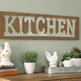 Kitchen Wall Décor & Small Kitchen Wall Decor | Wayfair