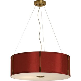 Winston Porter Vanness 1-Light Drum Pendant