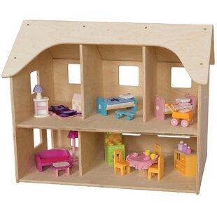 Wooden Dollhouse Kits Wayfair