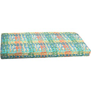 Momea Indoor/Outdoor Bench Cushion by Bungalow Rose