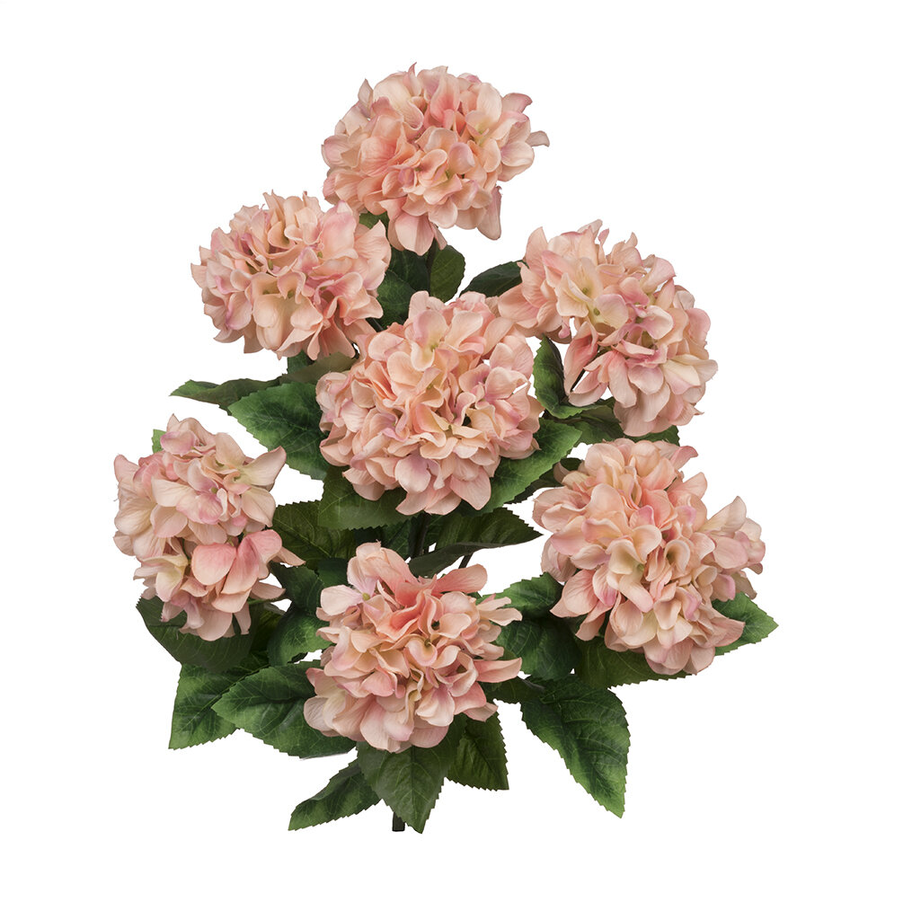 House Of Silk Flowers Artificial Hydrangea Bush Wayfair