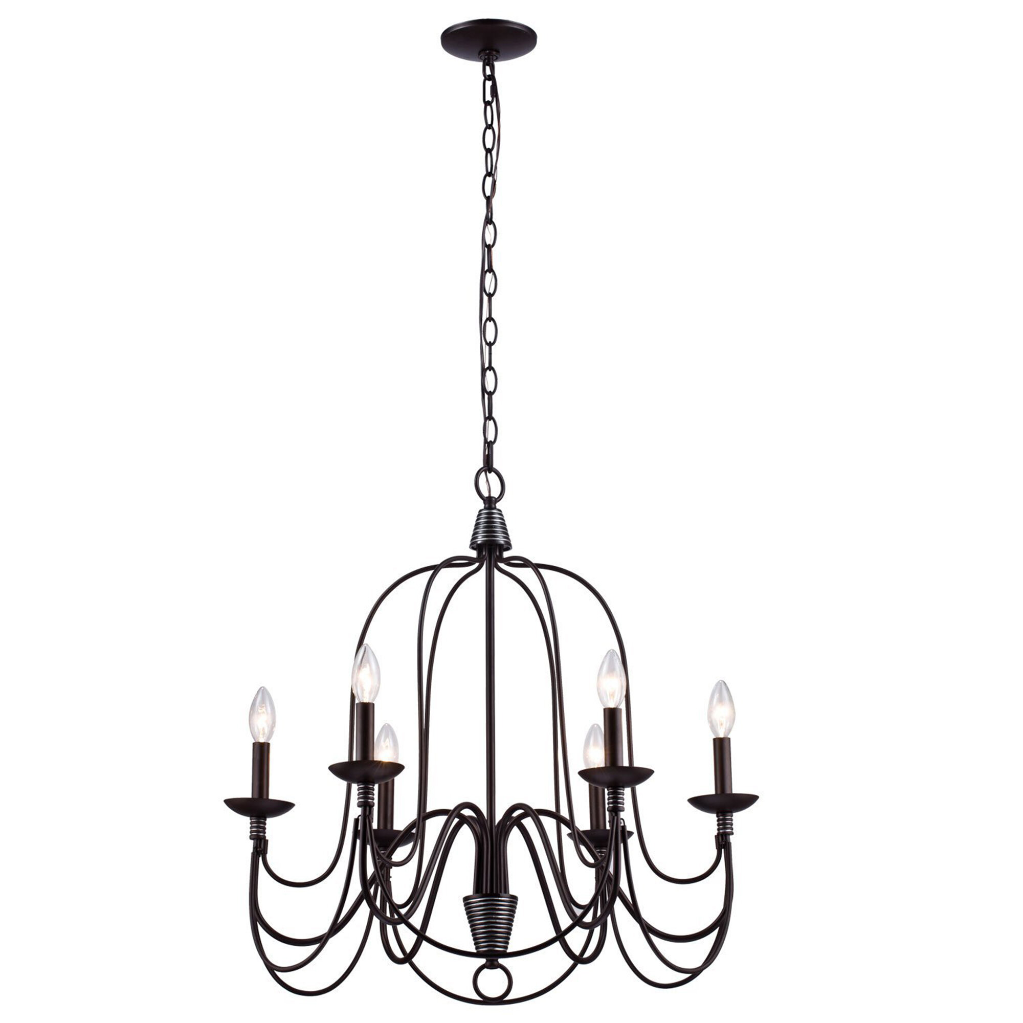 17 Stories Vahe 6 Light Candle Style Chandelier & Reviews