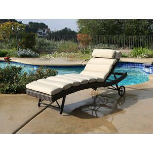 Check Prices Leib Chaise Lounge with Cushion Order and Review