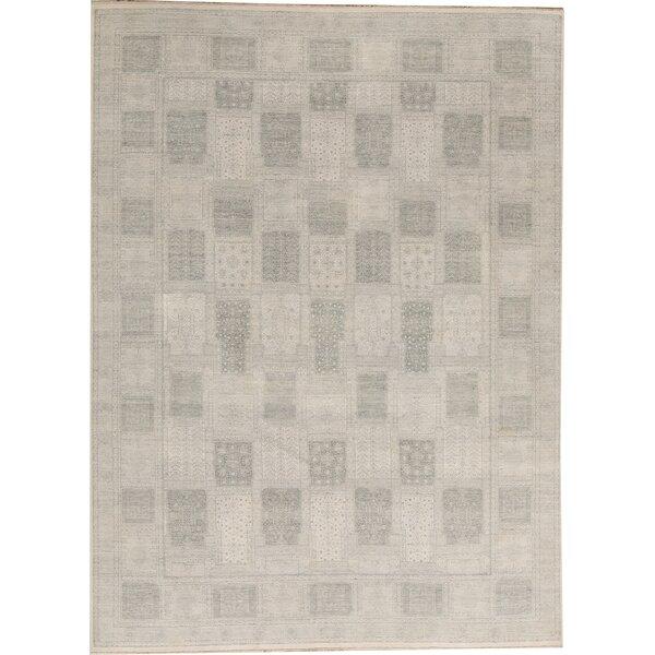 Bokara Rug Co Inc Hand Knotted Wool Beige Teal Blue Area Rug Wayfair