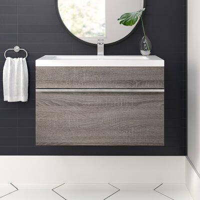 Caitlynn 24 Wall Mounted Single Bathroom Vanity Set Allmodern