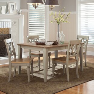 Cher 5 Piece Extendable Dining Set