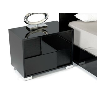 Keene 2 Drawer Nightstand by Everly Quinn