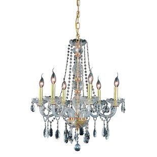 Abram 6-Light Candle Style Chandelier by Astoria Grand