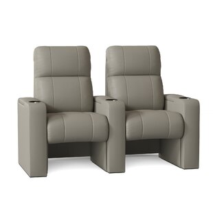 Home Theater Row Seating Row of 2 by Latitude Run