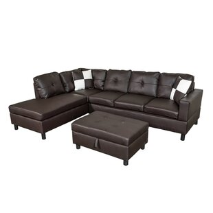 Ebern Designs Saltville Sectional with Ot..