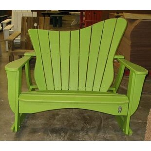 Wave Settee Rocking Chair by Uwharrie Chair