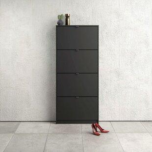 24 Pair Flip Down Shoe Storage By Ebern Designs