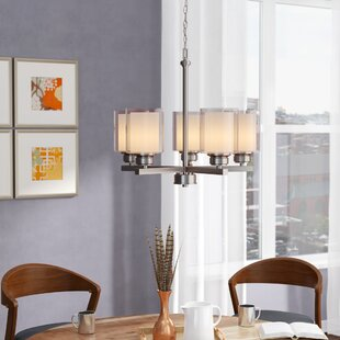 Craig 5-Light Shaded Chandelier by Zipcode Design