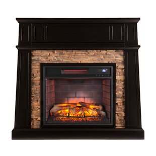 Contreras Infrared Media Electric Fireplace by Alcott Hill