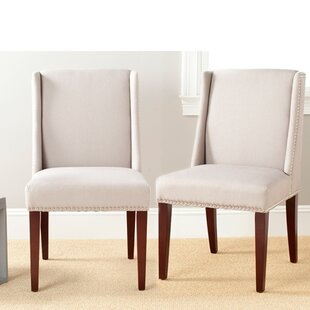 Read Reviews Humphry Side Chair (Set of 2) by Safavieh
