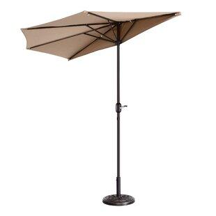 Colburn Half 9' Market Umbrella