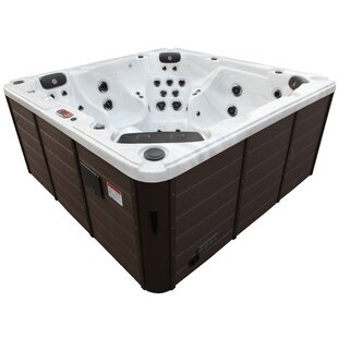Niagara 3-Pump 60-Jet  Hot Tub With Waterfall By Canadian Spa Co