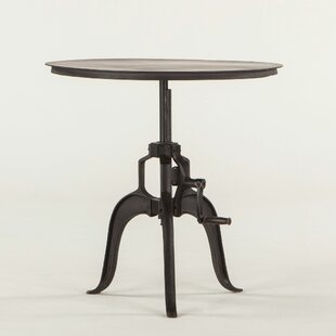 Hackett Adjustable Metal End Table by Wil..