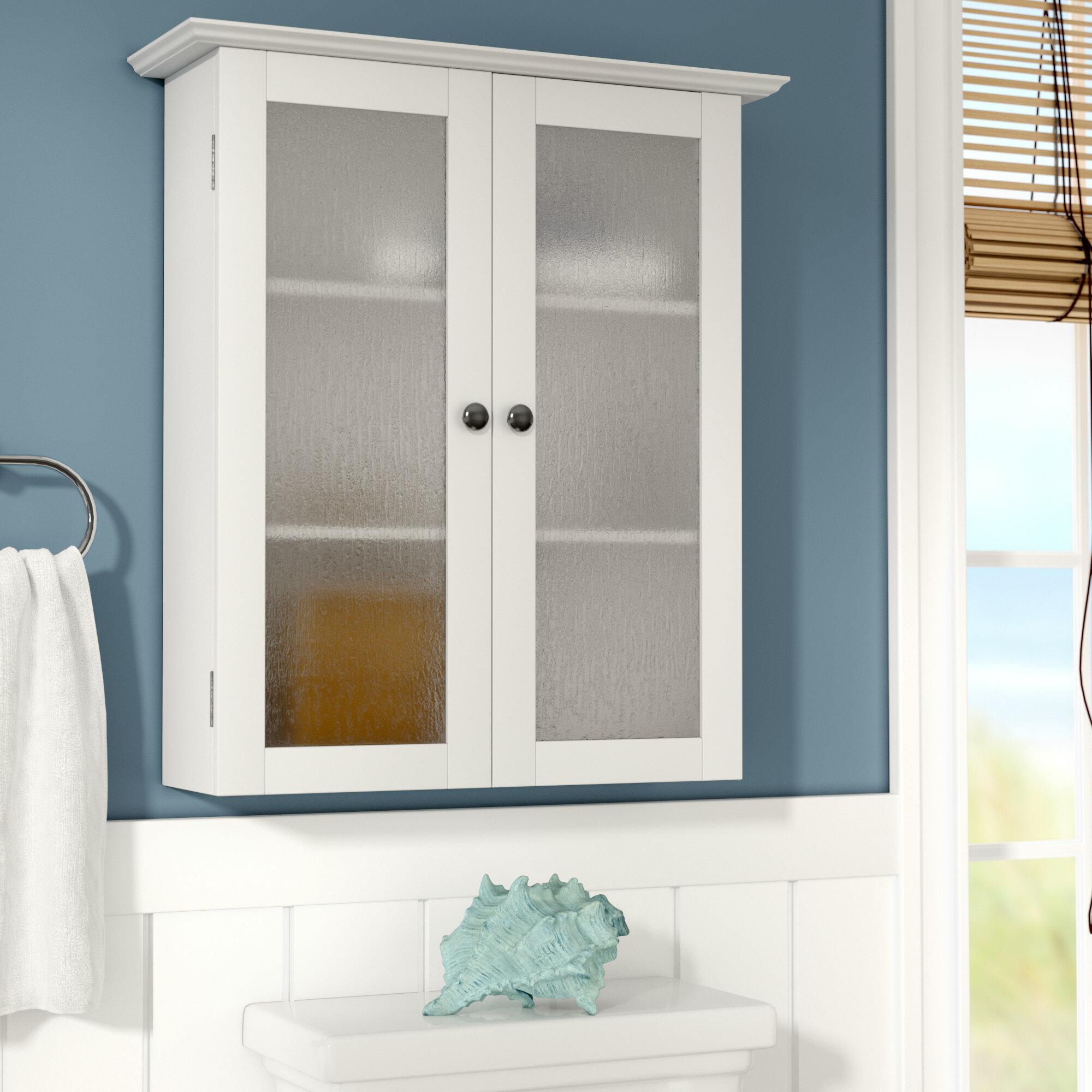 Beachcrest Home Raglen 22 25 W X 25 H X 8 D Wall Mounted Bathroom Cabinet Reviews Wayfair