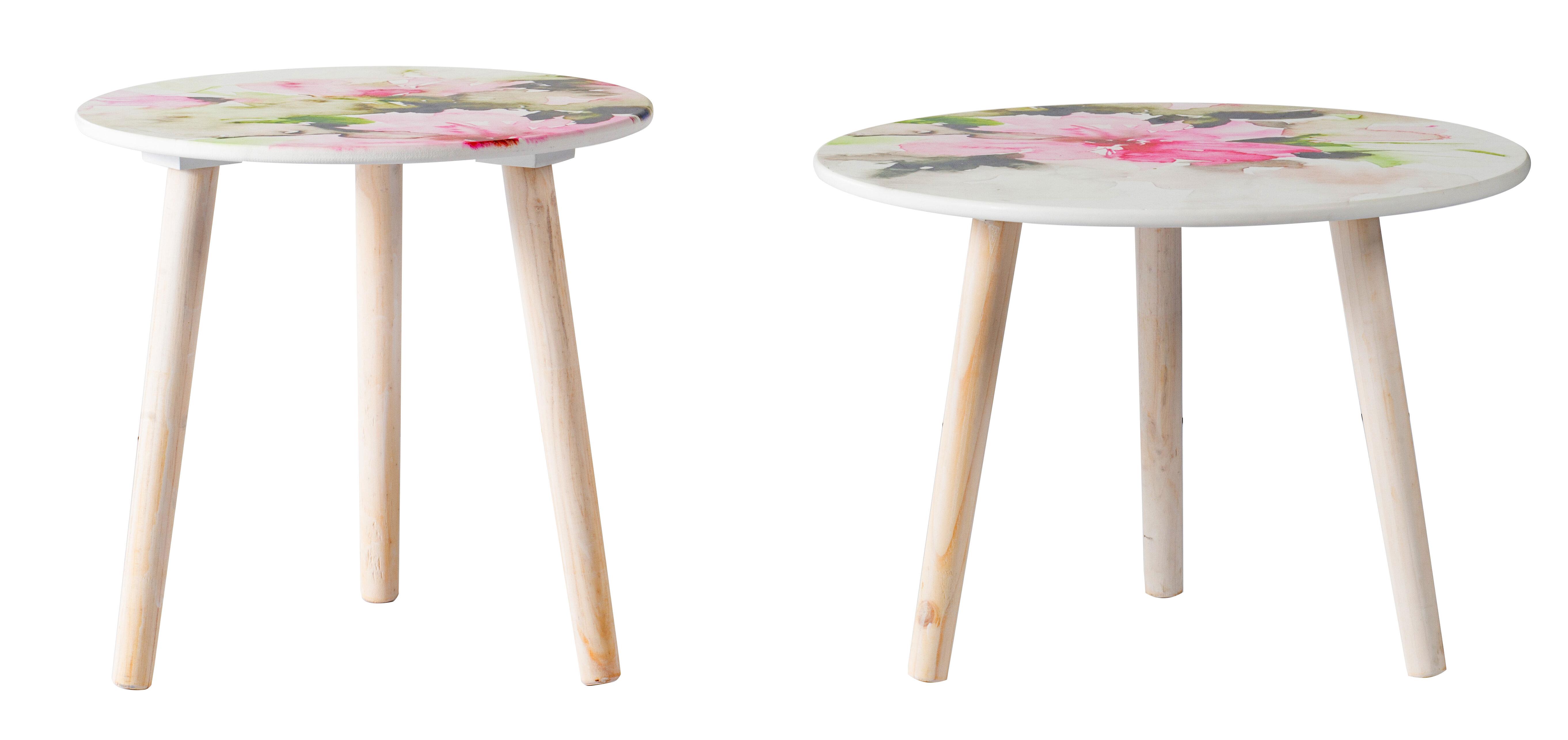 Corrigan Studio Laudalino 3 Legs End Table Set Wayfair