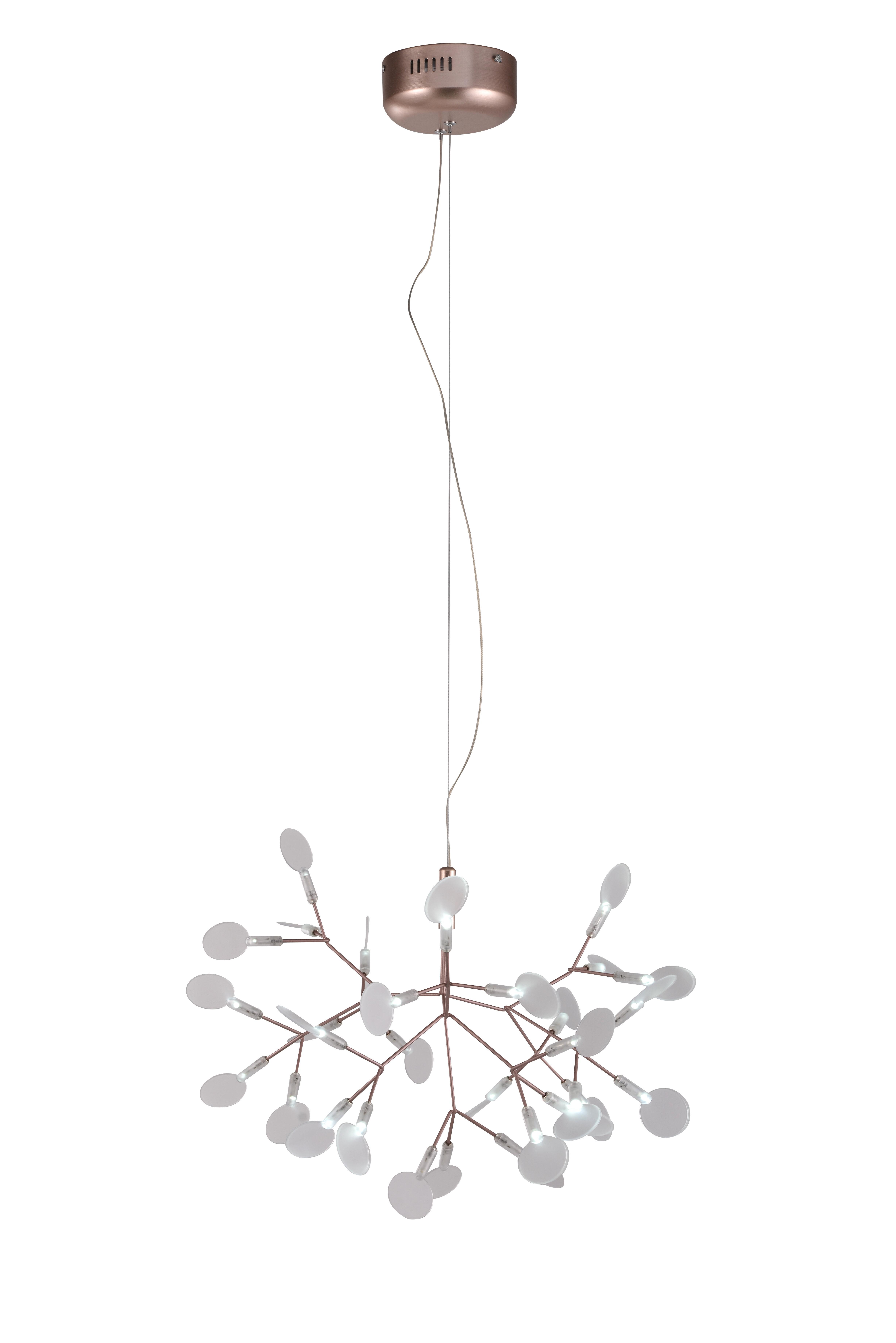 uk availability 8cd6d 13126 Nicholls 30-Light LED Sputnik Chandelier