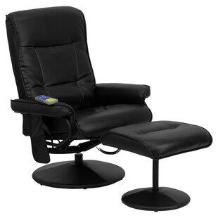 Heated Reclining Massage Chair U0026 Ottoman
