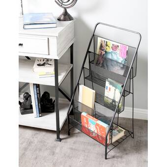 Black Price Remains Stable Objective Mesh Wall Literature Holder Magazine Hanging File Office Organizer Silver Office Equipment Office Equipment & Supplies