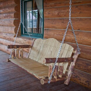 Loon Peak Tustin Porch Swing with Chains
