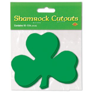 Shamrock Standup (Set of 24) by The Beistle Company