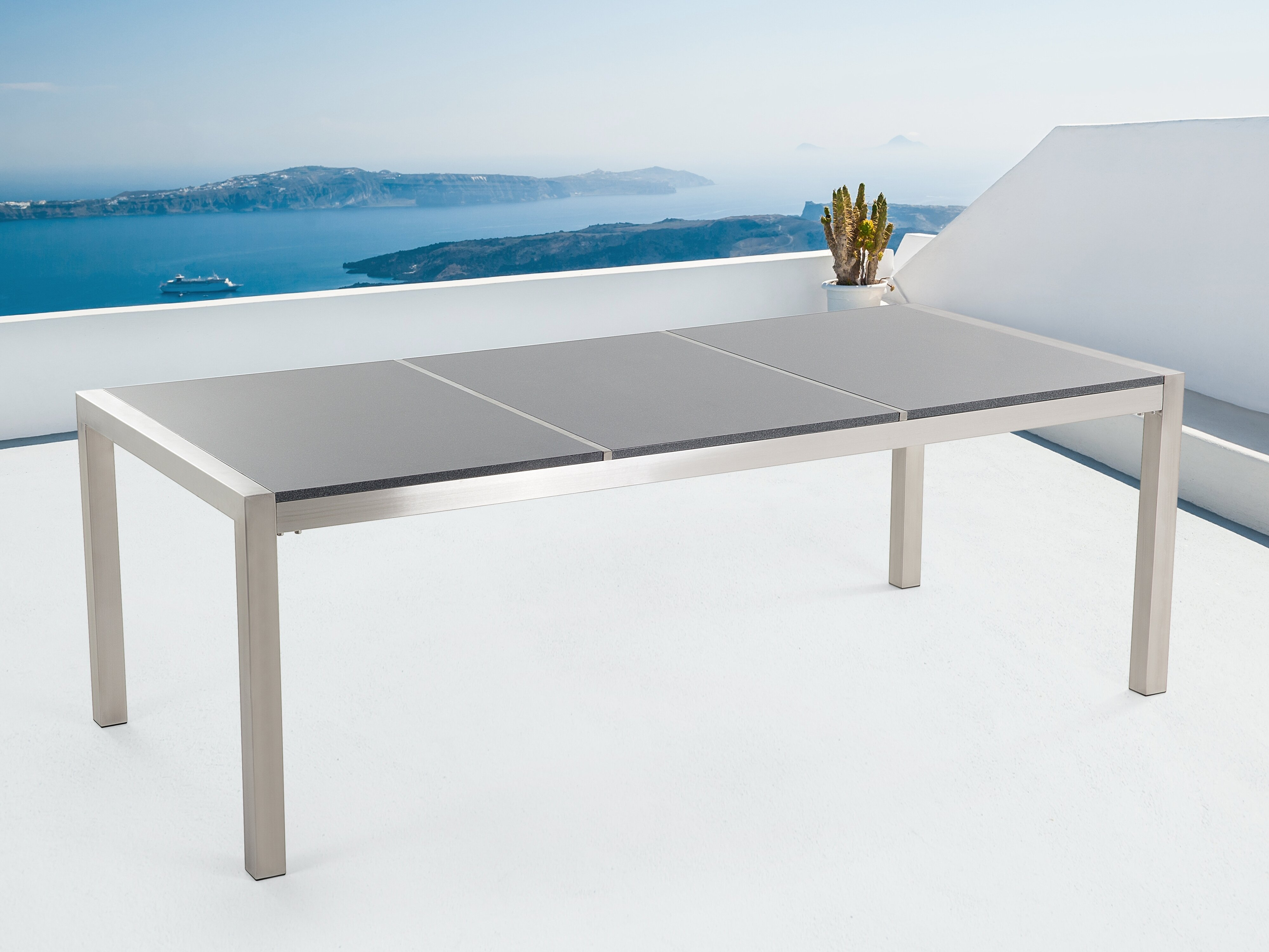 Lausanne Stainless Steel Dining Table