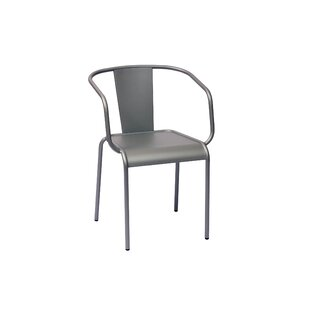 BFM Seating Tara X Stacking Patio Dining Chair