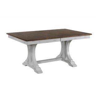 Gracie Oaks Debbra Extendable Solid Wood ..