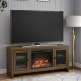 Oxon Hill TV Stand for TVs up to 65 with Fireplace Included by Gracie Oaks