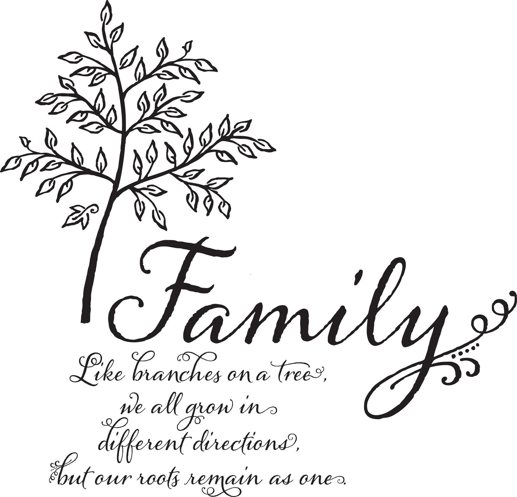 Winston Porter Droney Family Tree Quote Wall Decal Wayfairca