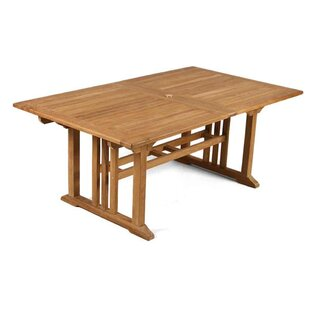 Shania Extending Teak Table By Sol 72 Outdoor