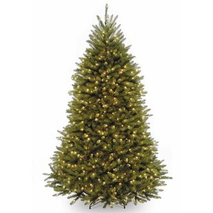 7 5 Green Fir Artificial Christmas Tree With 600 Clear White Light