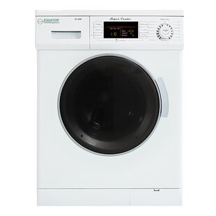 Compact 1.57 cu. ft. High Efficiency All In One Combo Washer with Detergent Packs and Dryer by Equator