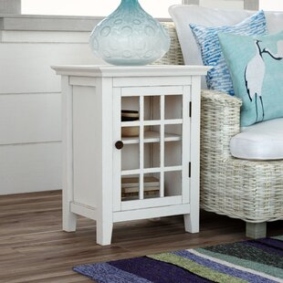 Beachcrest Home Naples Park Antique Single Door Accent Cabinet