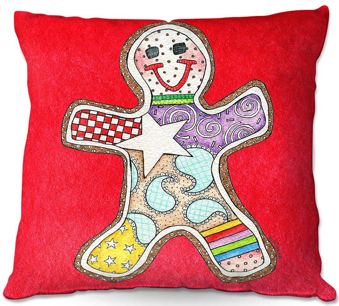Winston Porter Nance Couch Gingerbread Watermelon Throw Pillow Wayfair