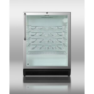 Summit Commercial 36 Bottle Single Zone Freestanding Wine Cooler by Summit Appliance