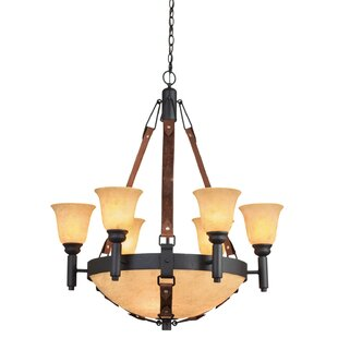Kalco Rodeo Drive 9-Light Shaded Chandelier