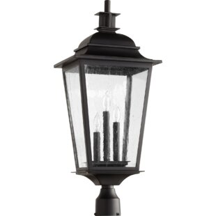 Compare prices Bridport Outdoor 3-Light Lantern Head By Canora Grey