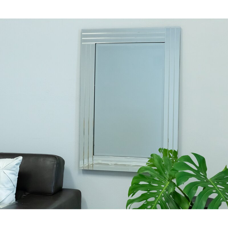 Selections by Chaumont Gatsby Art Deco Wall Mirror | Wayfair
