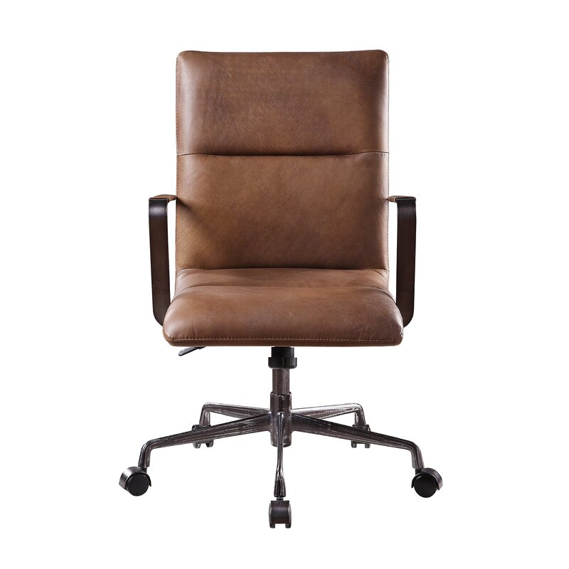 Dacia Genuine Leather Executive Chair Allmodern